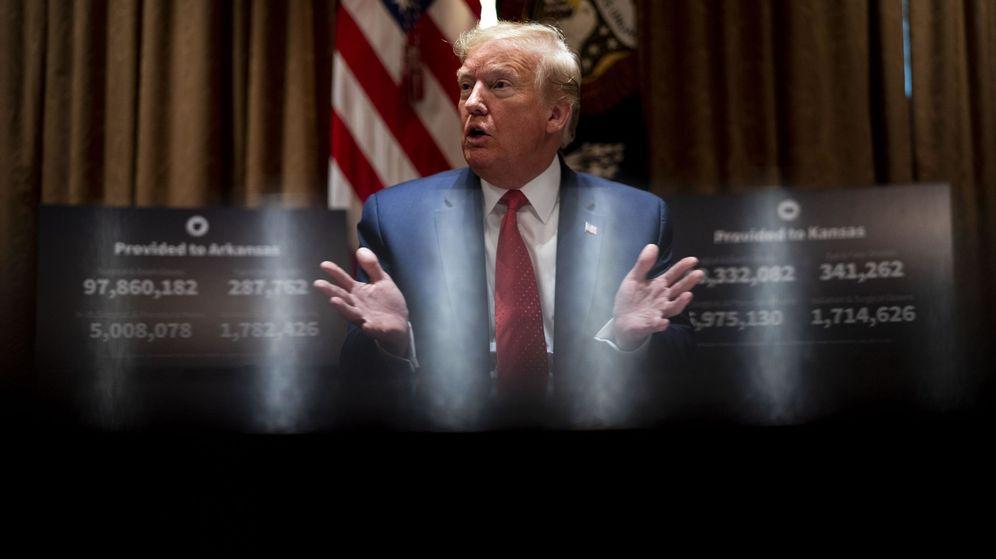 Foto: La crisis económica puede llevarse por delante a Donald Trump (EFE EPA/Doug Mills)