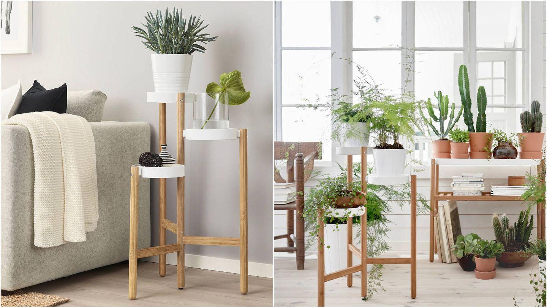 Muebles de bambú, éxito de ventas en Ikea. (Cortesía)