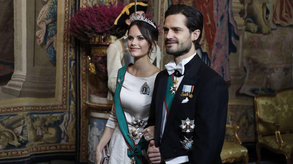 familia real de suecia: sofía hellqvist vuelve a vestirse de novia