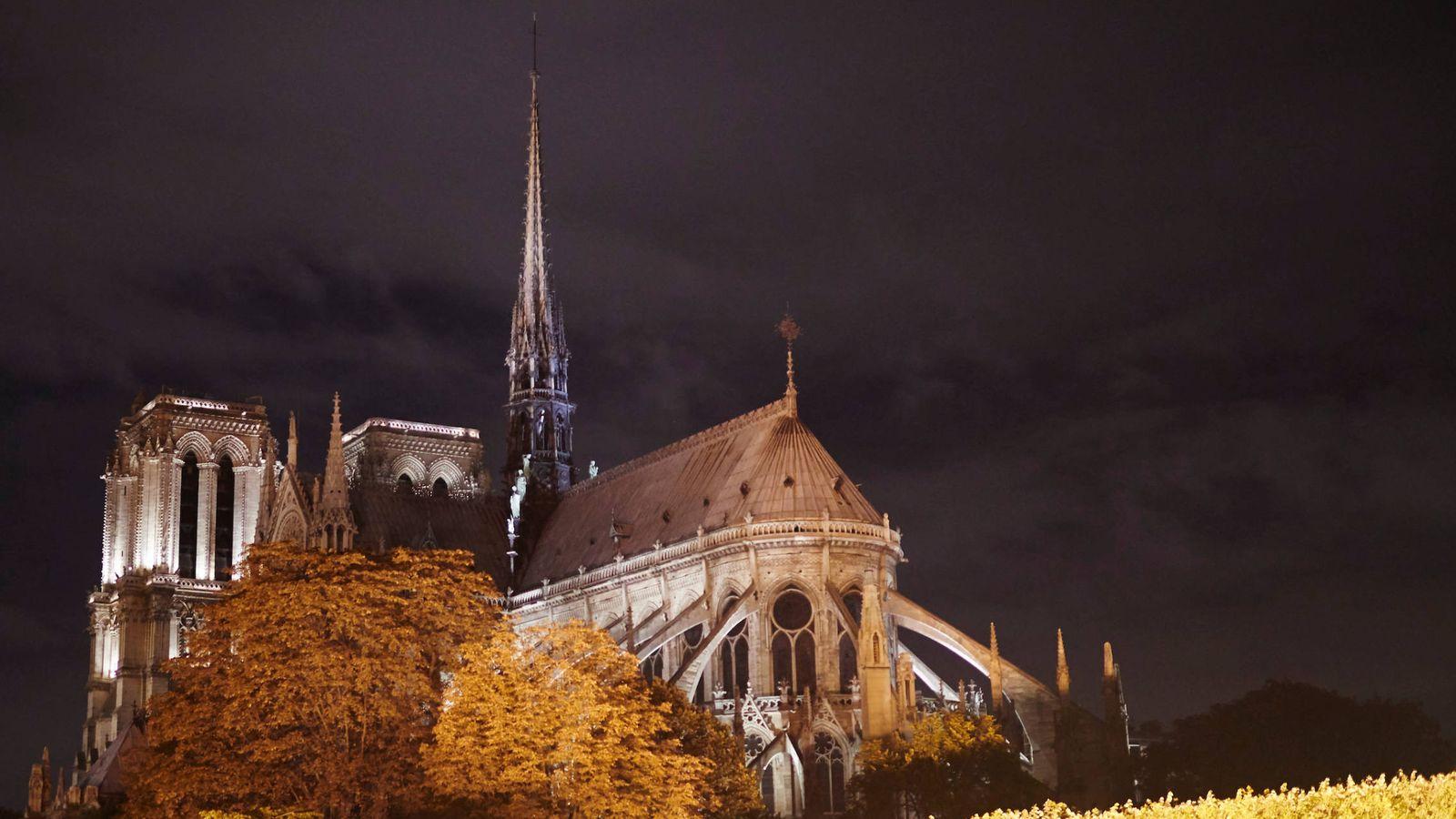 Foto: La catedral de Notre Dame de París. (Limited Pictures)