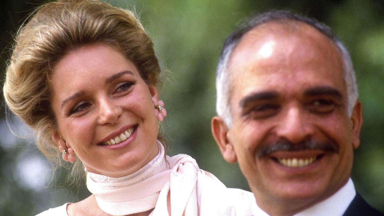 Huséin y Noor de Jordania (Getty)