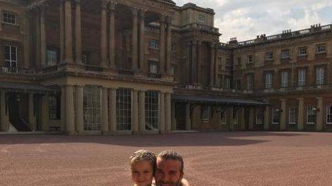 La celebración 'vip' del cumpleaños de Harper Beckham en Buckingham