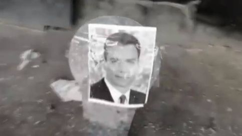 La Policía ubica en Málaga la galería de disparos contra fotos de Sánchez e Iglesias