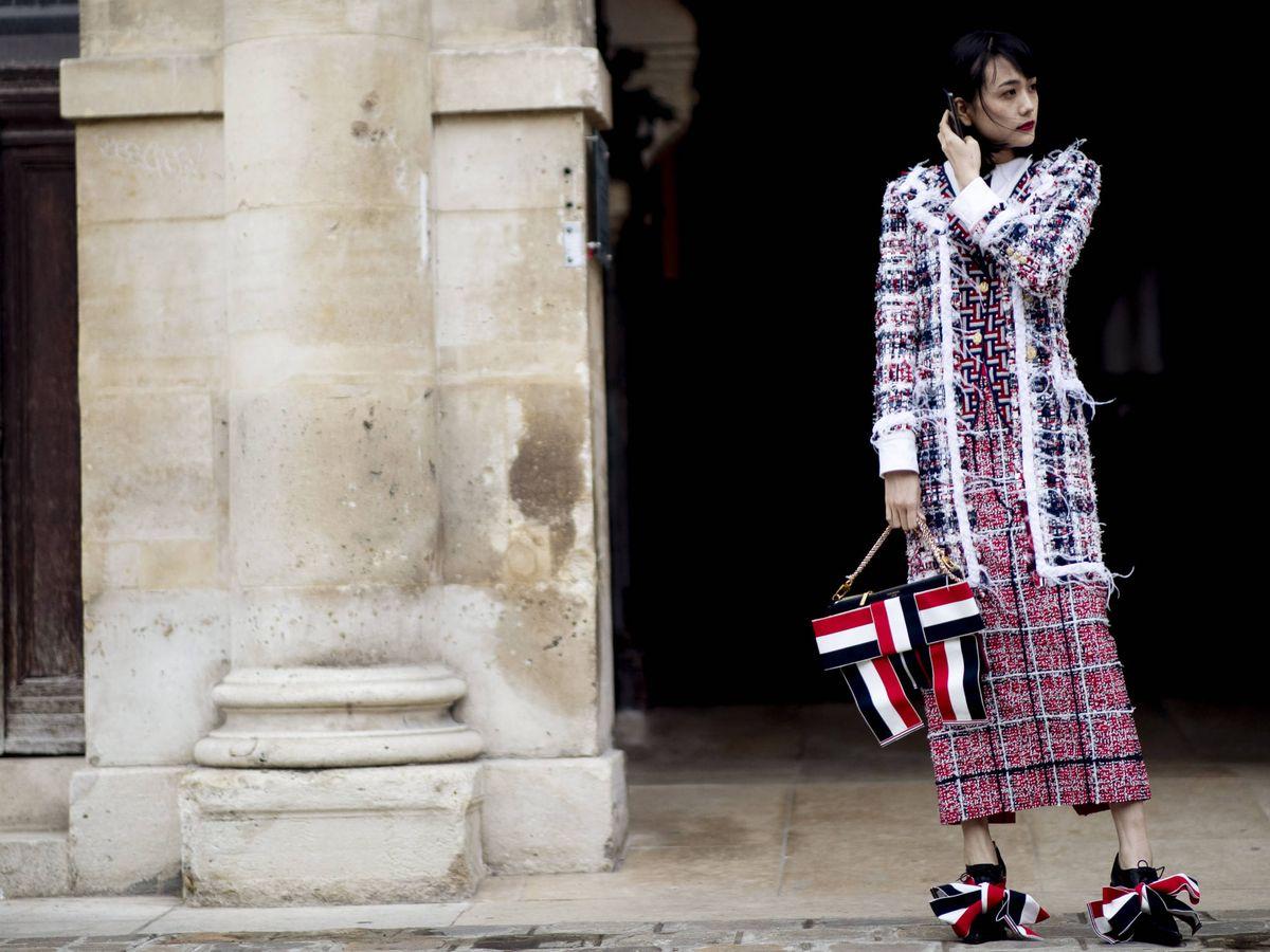 Foto: Zara nos inspira con su nuevo dúo de tweed. (Imaxtree)