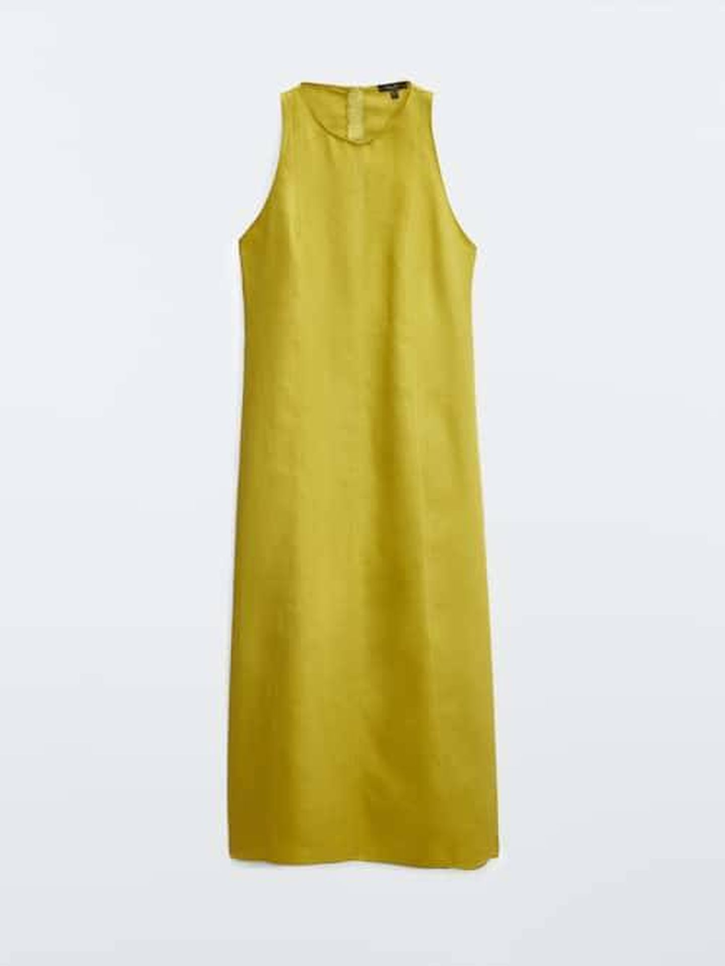 El nuevo vestido de Massimo Dutti. (Cortesía)