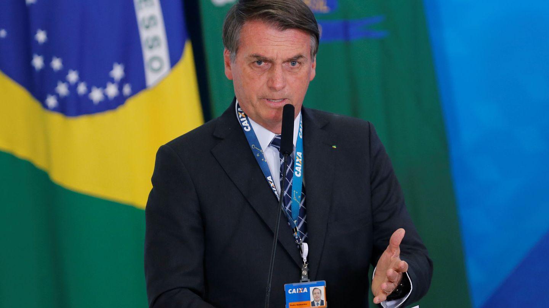 El presidente brasileño, Jair Bolsonaro. (Reuters)