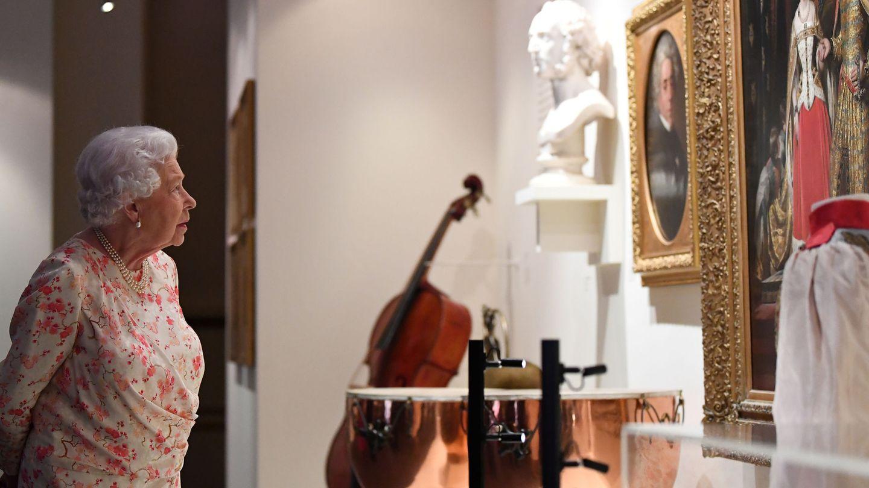 La reina Isabel, en Buckingham. (Reuters)