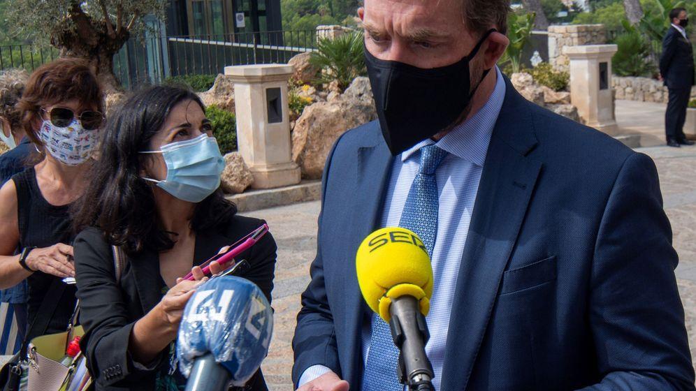 Foto: El secretario de Estado de Turismo, Fernando Valdés, la pasada semana, en Palma. (EFE)