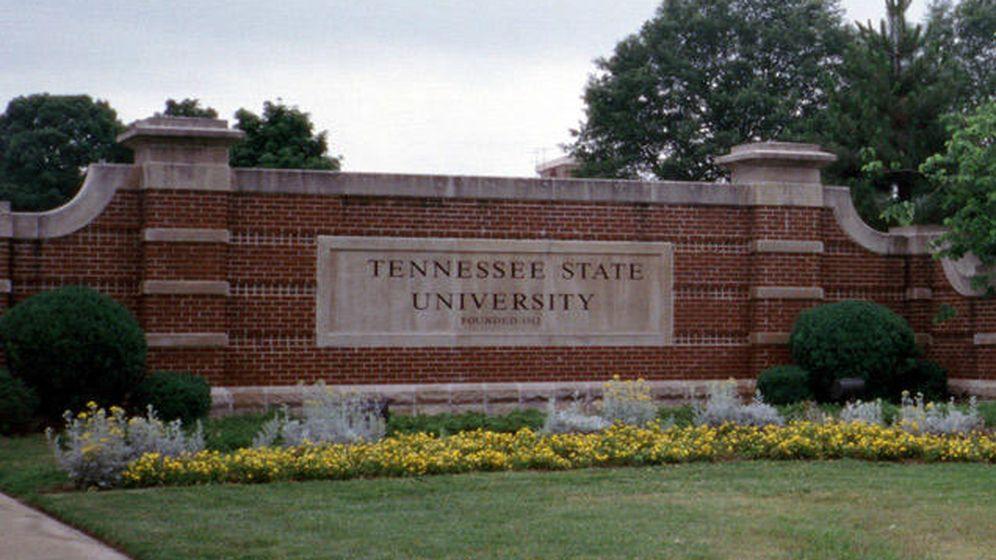 Foto: Entrada de la Universidad Estatal de Tennessee
