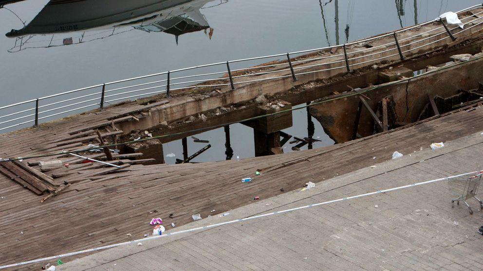 El Ayuntamiento de Vigo responsabiliza al puerto del accidente en el 'O Marisquiño'