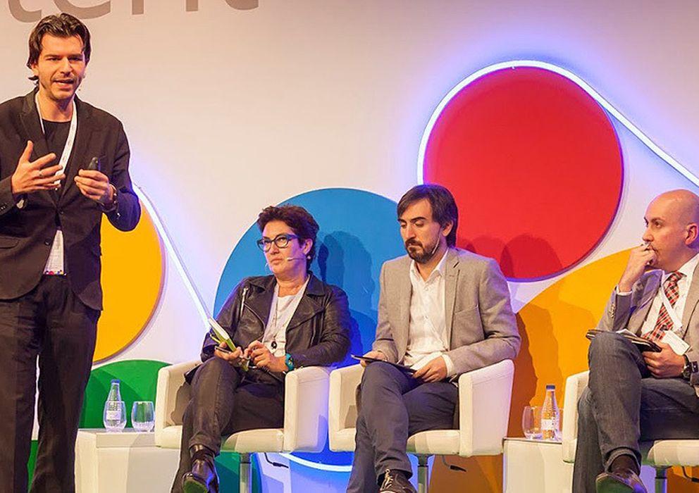 Foto: Rob Wijnberg, Montserrat Domínguez, Ignacio Escolar y Nacho Cardero