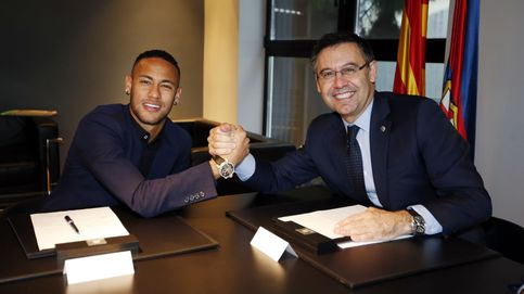 El Barcelona denuncia a Neymar... y este vacila a Bartomeu con la 'MSN' y Piqué