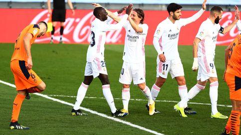 Kroos y Modric fueron suficientes para liquidar a un Valencia frágil y sin vigor
