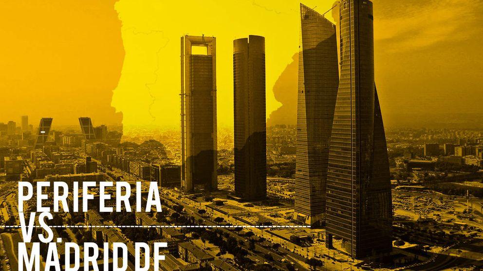 La periferia se rebela contra el 'Madrid DF' y exige compartir las instituciones del Estado