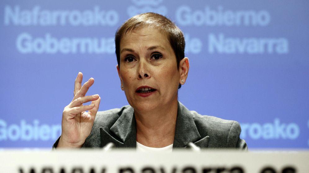 Foto: La presidenta del Ejecutivo foral, Uxue Barkos. (EFE)