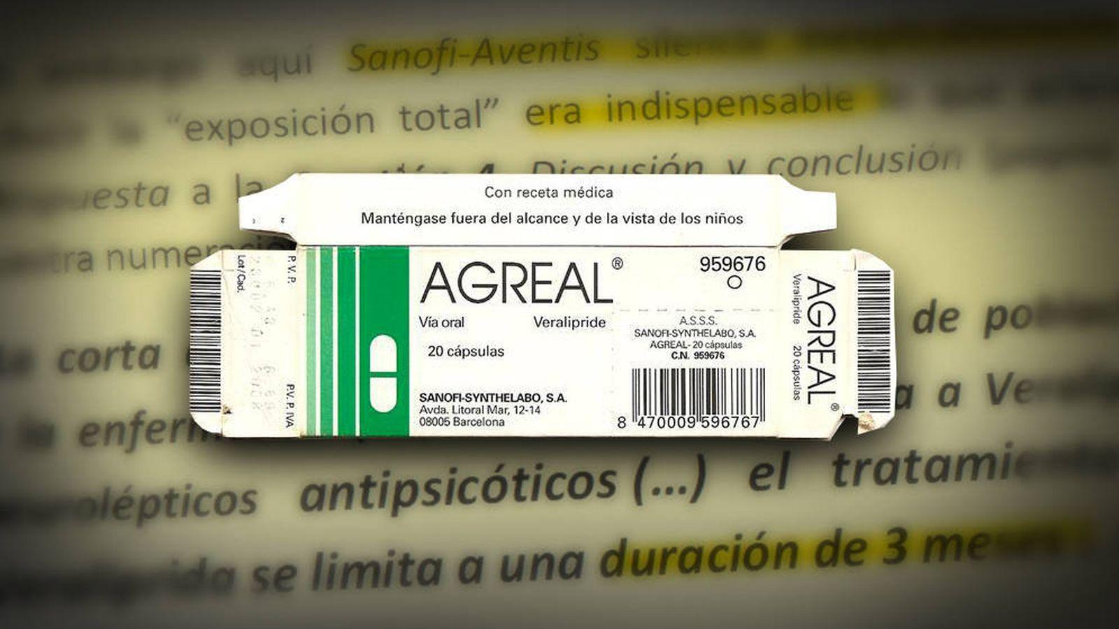 Resultado de imagen de fármaco Agreal