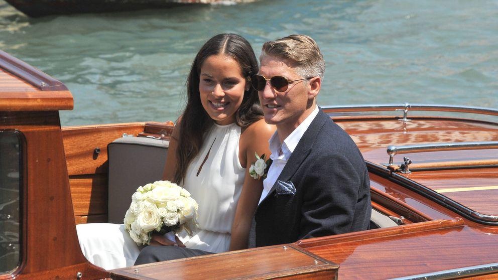 La romántica boda entre Bastian Schweinsteiger y Ana Ivanovic, ex de Verdasco