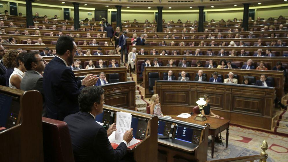 Foto: Imagen de archivo del Congreso de los Diputados. (EFE)