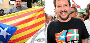 Post de ¿Qué esconde Salvini tras la estelada? El romance entre la Liga y los 'indepes'