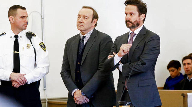 Kevin Spacey, durante un juicio. (Getty)