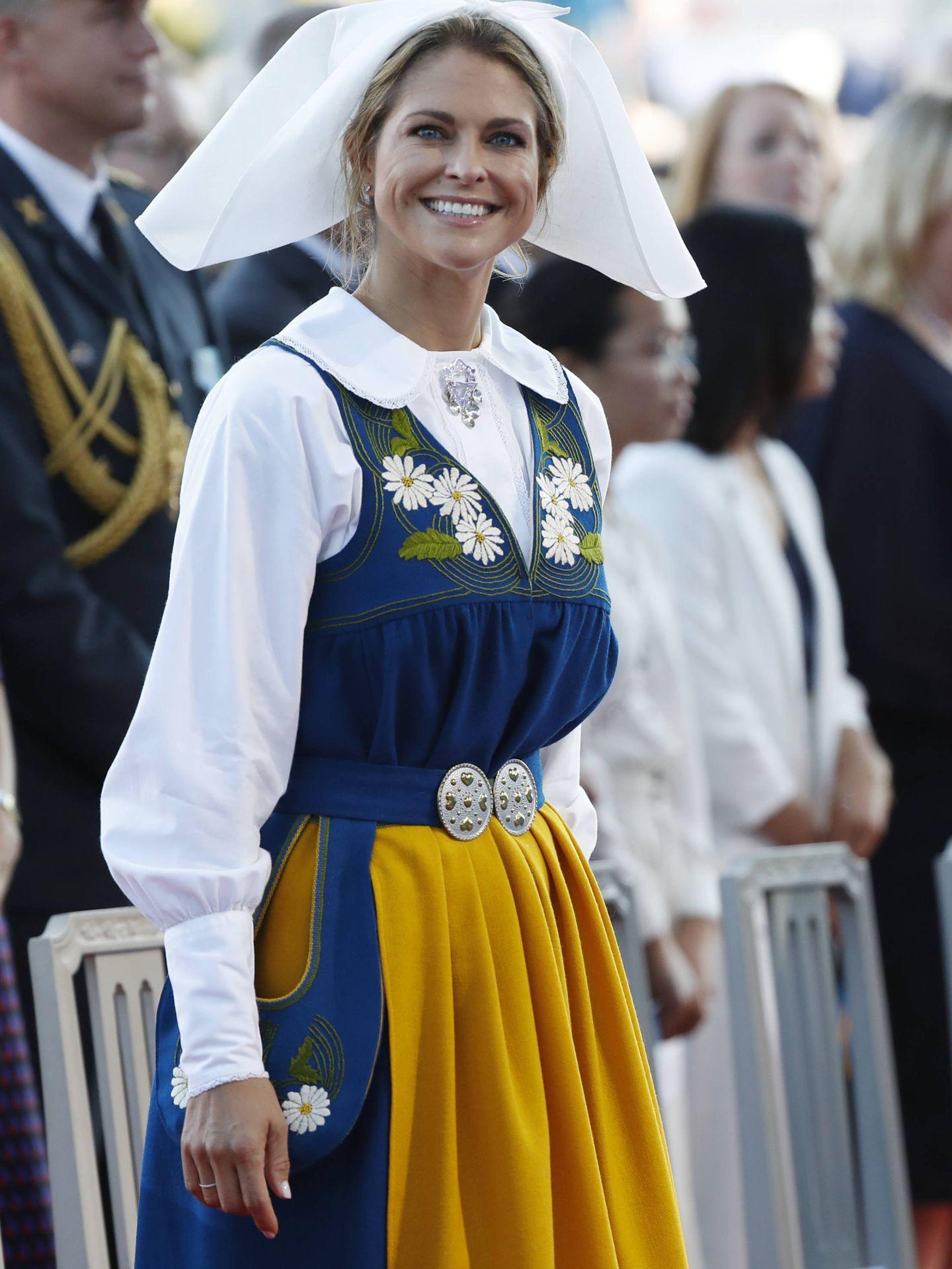 La princesa Magdalena, en las celebraciones del Día Nacional. (Getty)