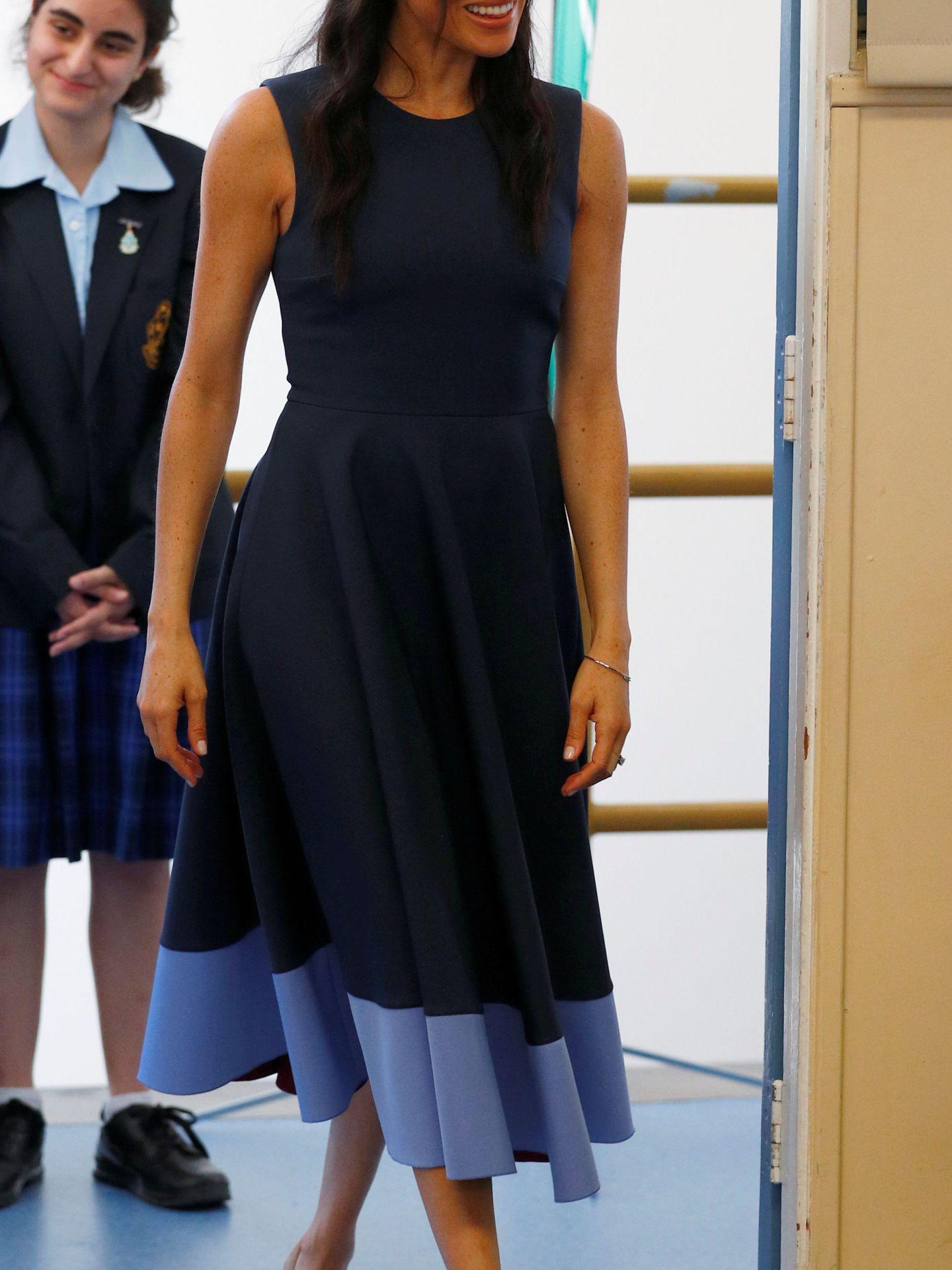 La duquesa de Sussex. (Reuters)
