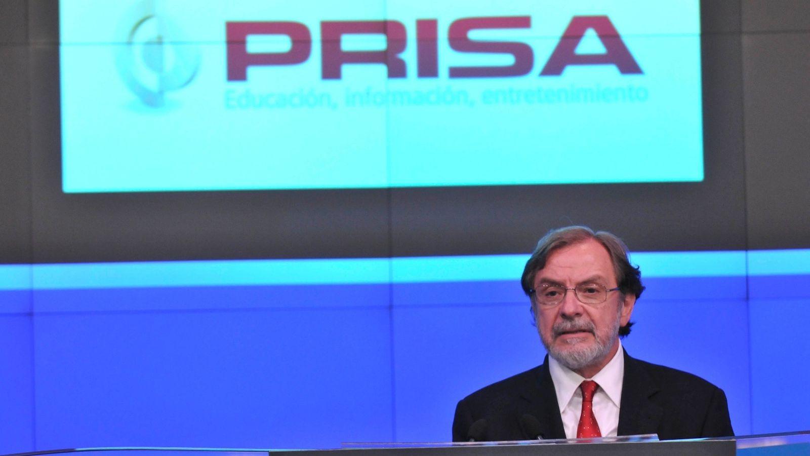 Foto: Juan Luis Cebrián, presidente de PRISA (EFE).