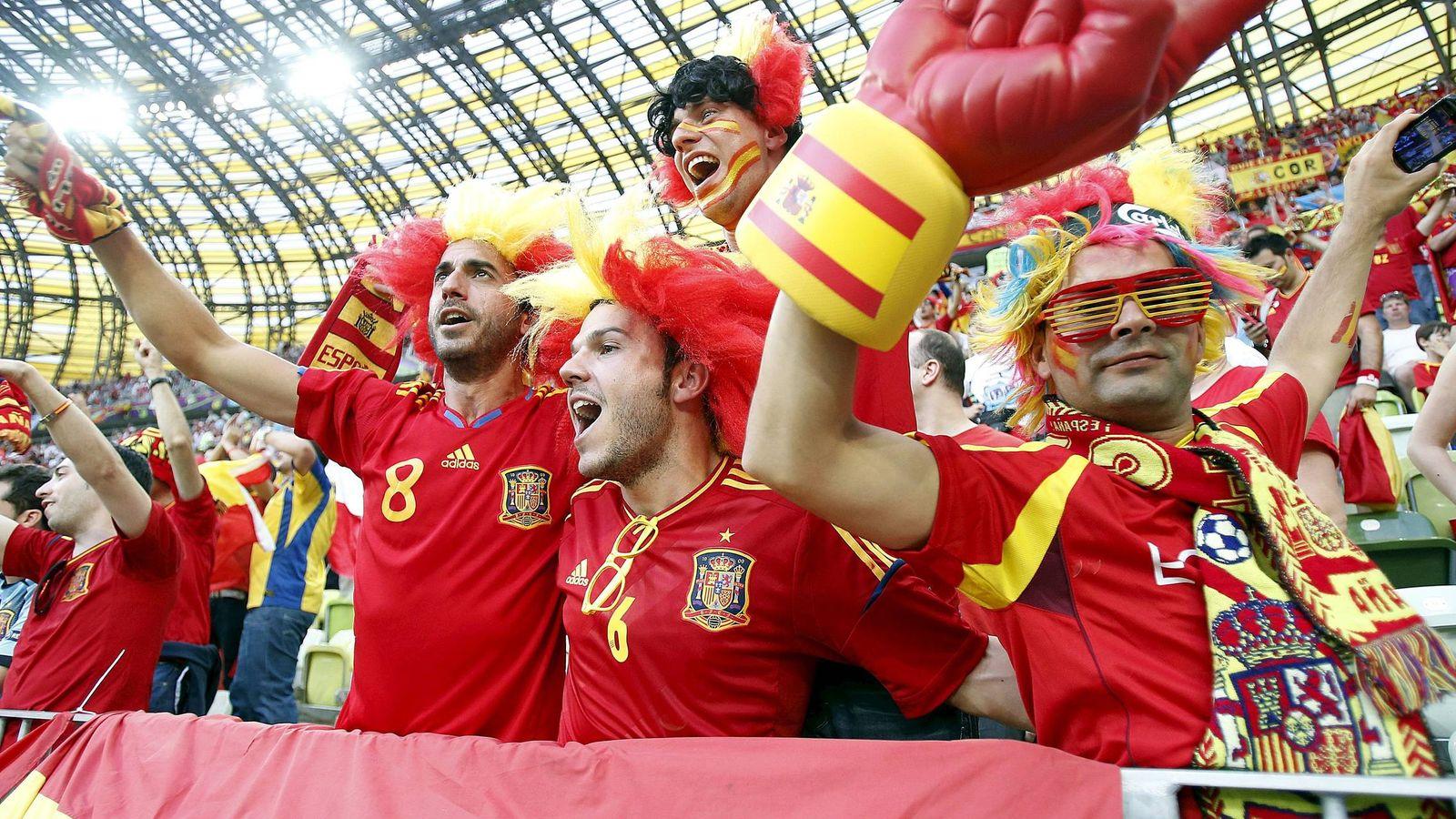 Foto: Seguidores de la Selección española   EFE