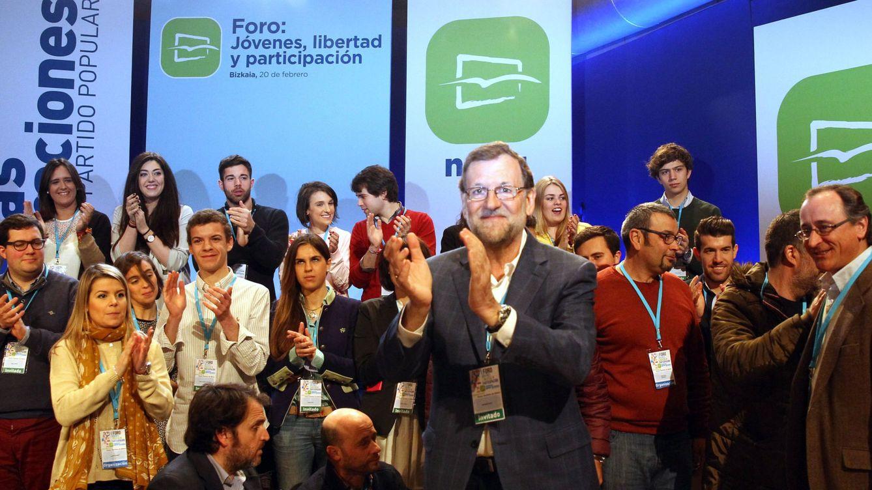 El Gobierno desembarca en Euskadi con Rajoy a la cabeza por las autonómicas