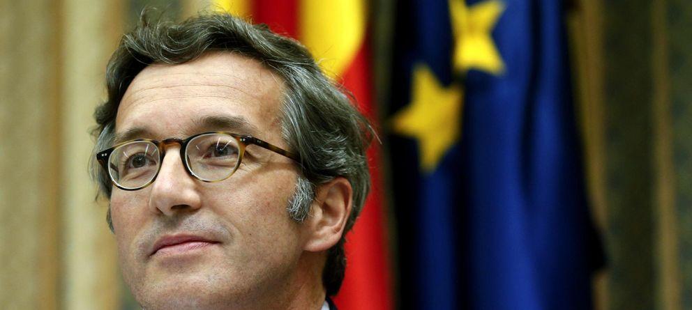 Foto: El secretario de Estado de Cultura, José María Lassalle, durante su comparecencia ante la Comisión de Presupuestos del Congreso. (EFE)