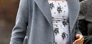 Post de Meghan Markle presume de barriguita con un ajustadísimo vestido