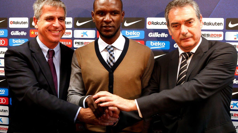 Las razones que llevaron al Barcelona a contratar a Éric Abidal