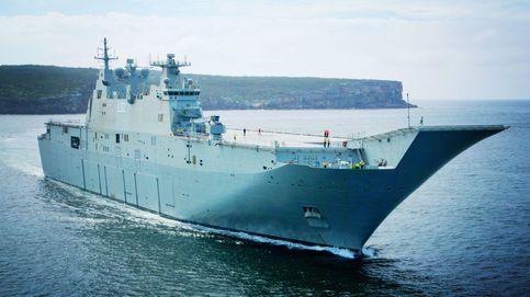 Los fallos de diseño en buques de combate españoles que han indignado a Australia