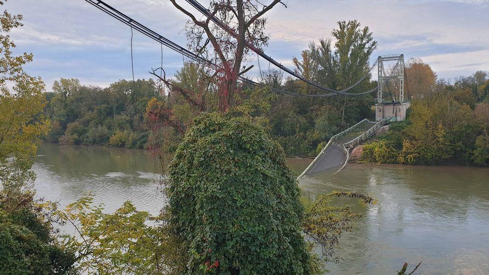 Al menos un muerto y varios desaparecidos tras derrumbarse un puente al sur de Francia