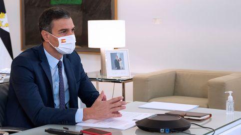 Sánchez valora la cohesión territorial que traería la fusión de CaixaBank-Bankia