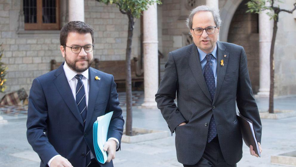 El Govern vende como cumbre y Moncloa como reunión la cita Sánchez-Torra