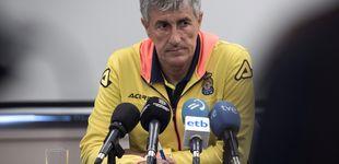 Post de Las Palmas arde en llamas: Quique Setién asume que puede ser despedido