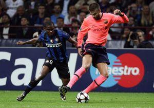 Eto'o: Me sentí extraño al jugar contra el Barça