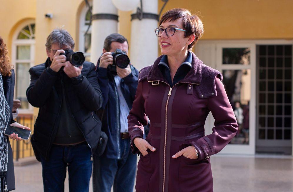 Foto: María Gámez, nueva directora de la Guardia Civil, este 17 de enero en Málaga. (EFE)