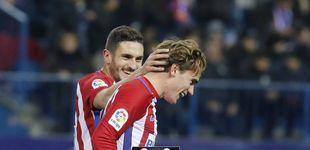 Post de A Griezmann le apetece mucho esta Copa y acerca al Atlético a semifinales