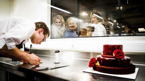 Abre en Milán el primer banco con pastelería