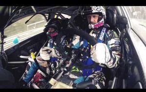 Disfrute del Rally de Monza en primera persona... con Valentino Rossi