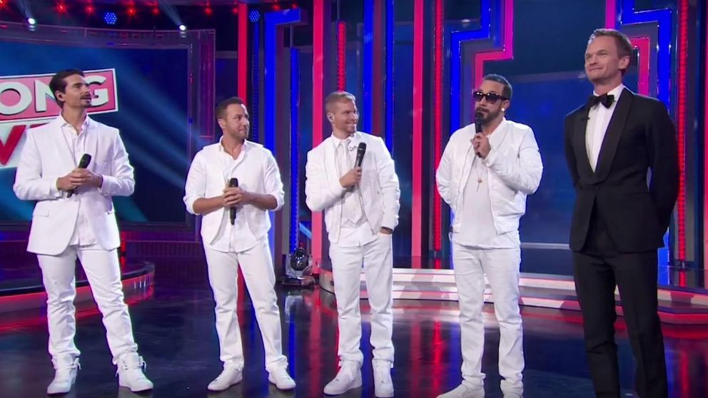 Neil Patrick Harris se convierte en miembro de los Backstreet Boys