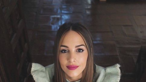 Rocío Osorno hará que te enamores de este abrigo lila de Uterqüe con cuello desmontable de pelo
