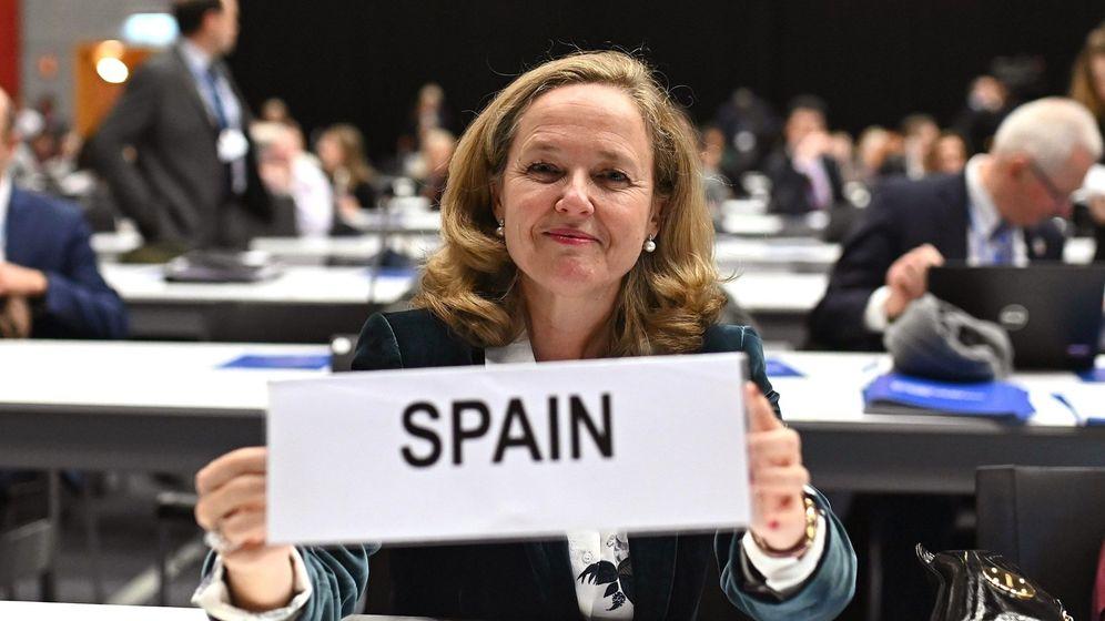 Foto: La ministra de Economía y Empresa, Nadia Calviño. (EFE)