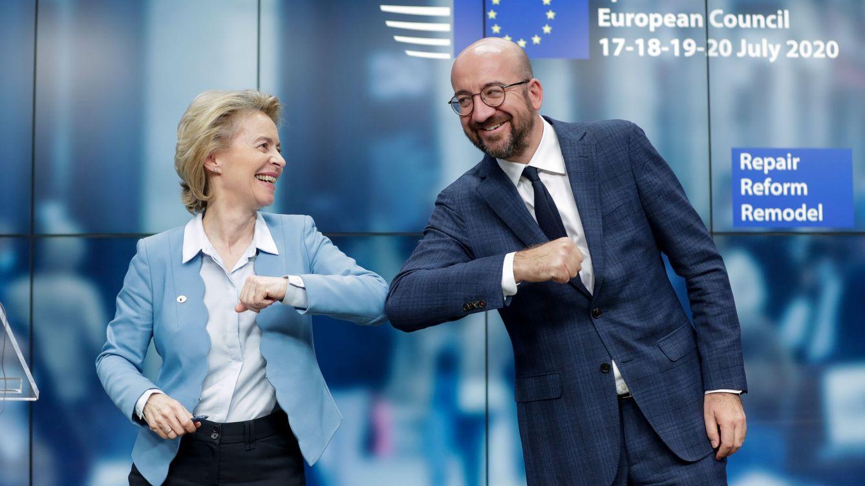 Foto: La presidenta de la Comisión Europea, Ursula Von Der Leyen, y el del Consejo Europeo, Charles Michel. (Reuters)