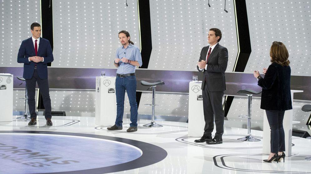 Foto: Imagen del debate celebrado en Atresmedia. (EFE)