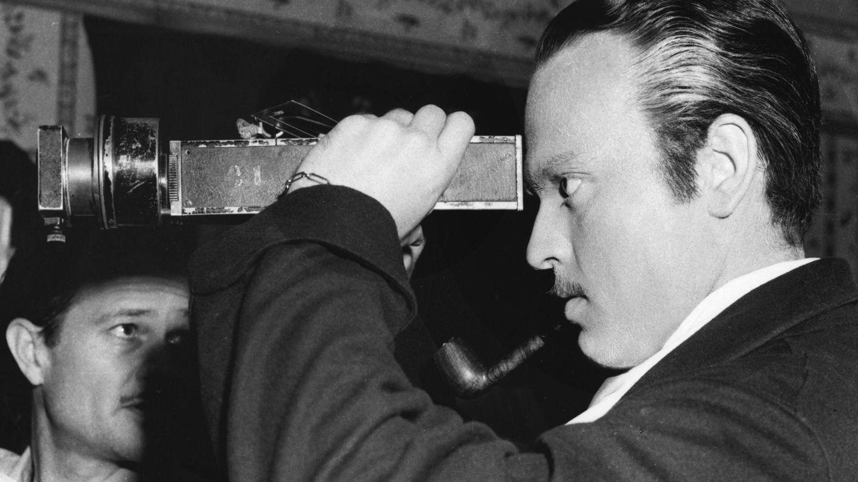 Welles, durante el rodaje. (CP)