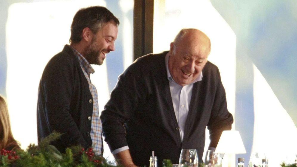Foto: El empresario Amancio Ortega (d) y el alcalde de A Coruña, Xulio Ferreiro. (EFE)