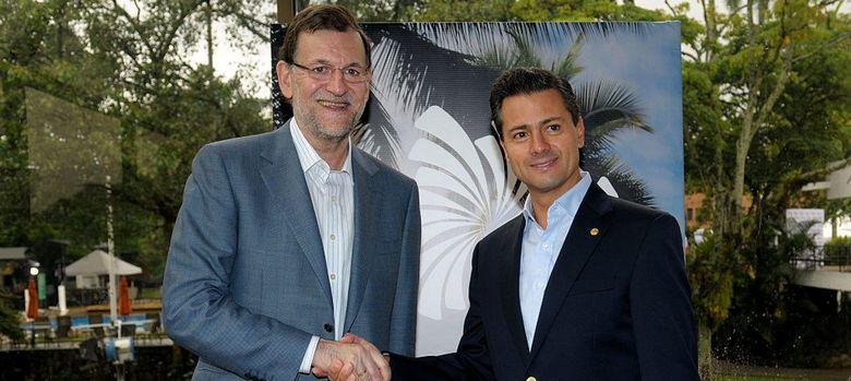 Foto: Mariano Rajoy y Enrique Peña Nieto (EFE)